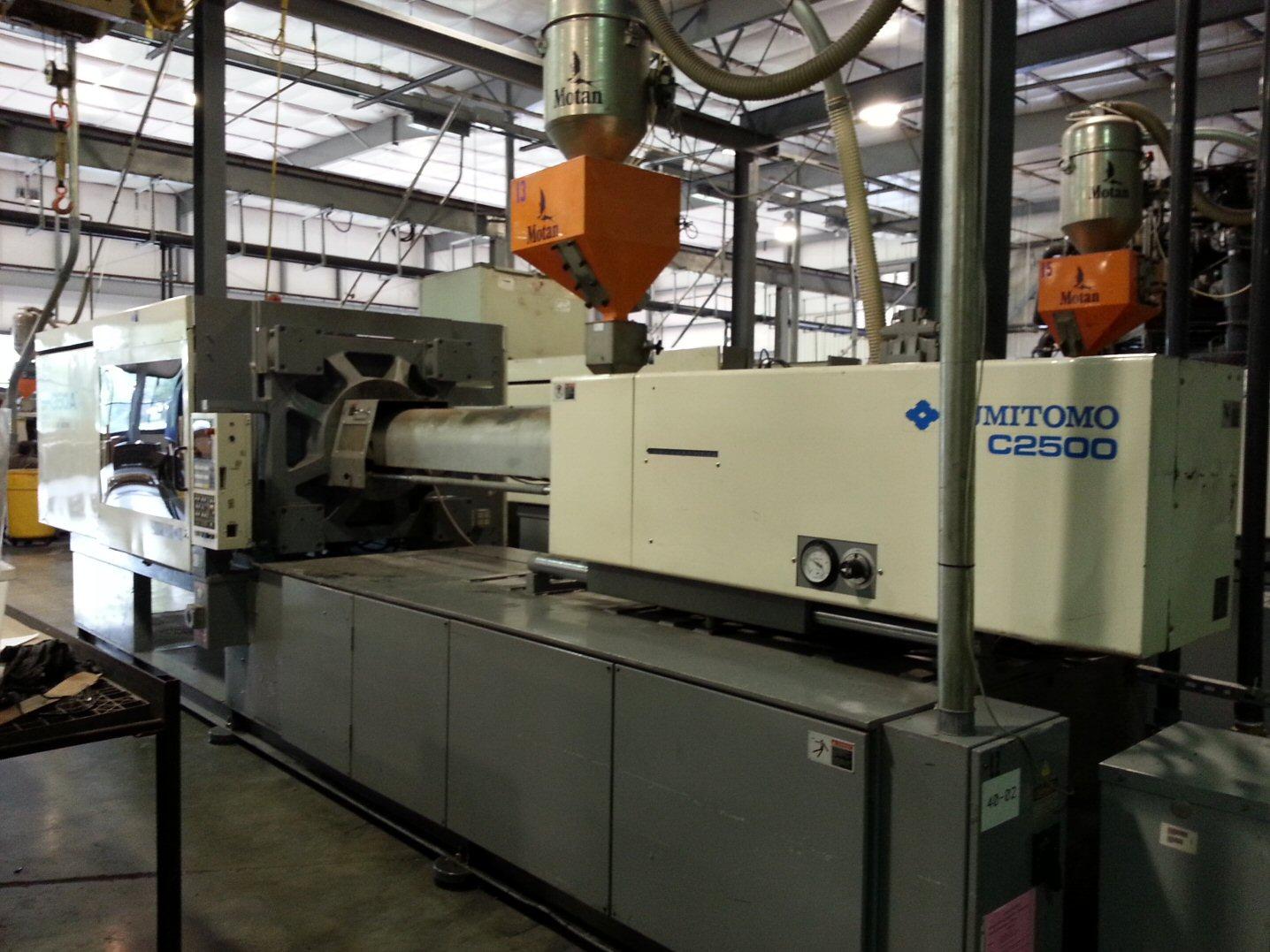 Used Sumitomo Sh350a C2500 Injection Molding Machine Exapro