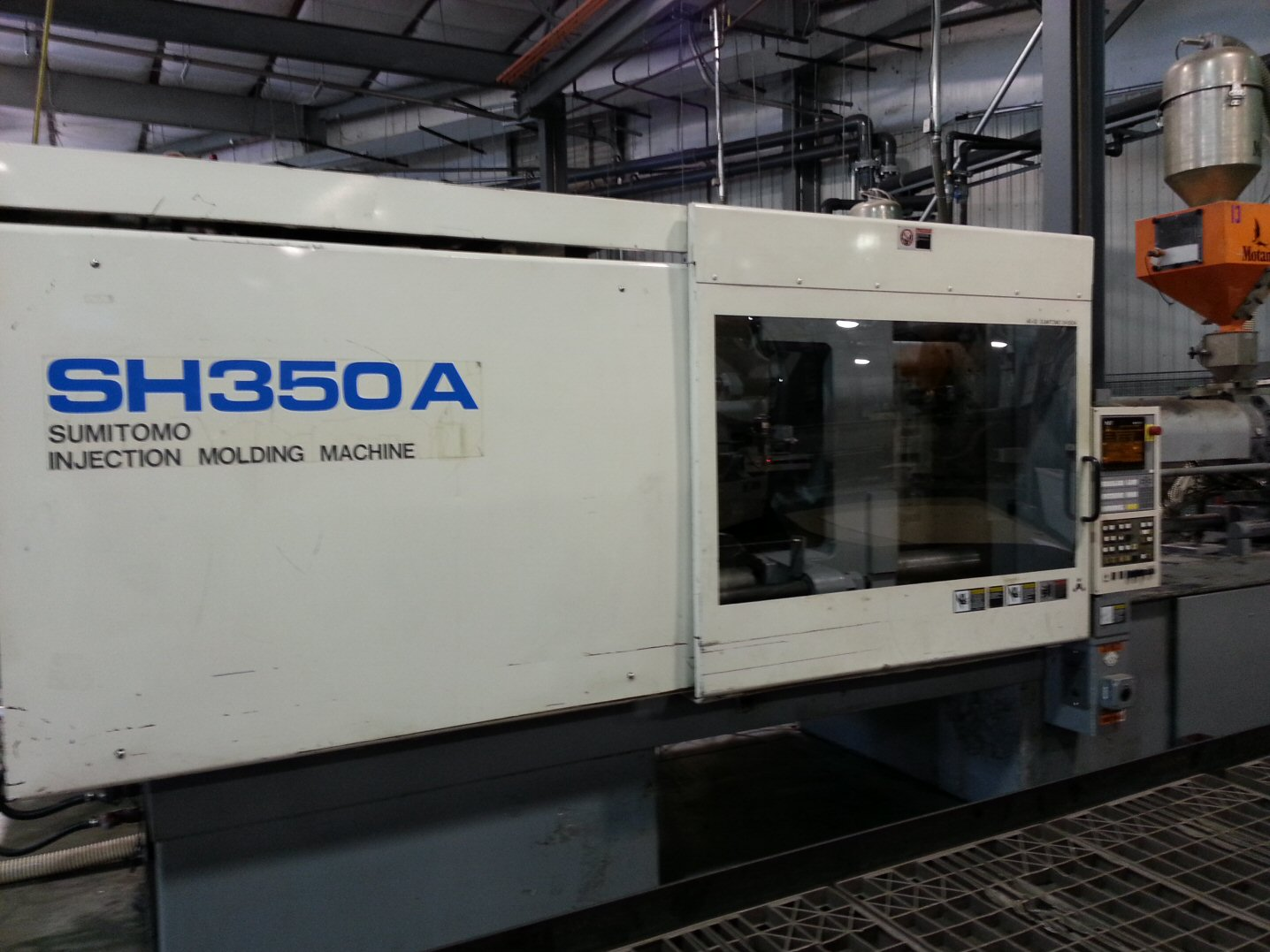 Used Sumitomo Sh350a C2500 Injection Molding Machine Exapro