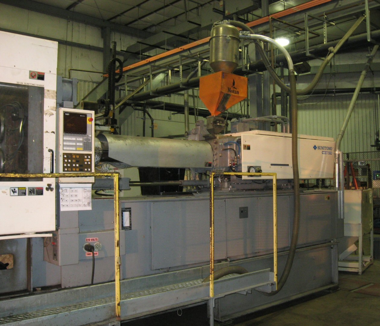 Used Sumitomo Sh450a Injection Molding Machine Exapro