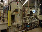 Used Newbury 200-VTCR9 Injection molding machine