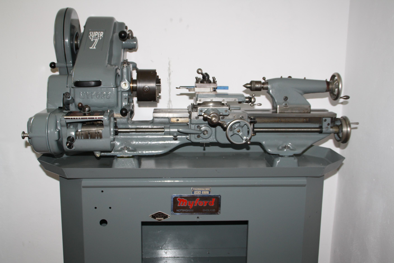 Myford Super 7 Drehmaschine Gebrauchte Maschinen Exapro