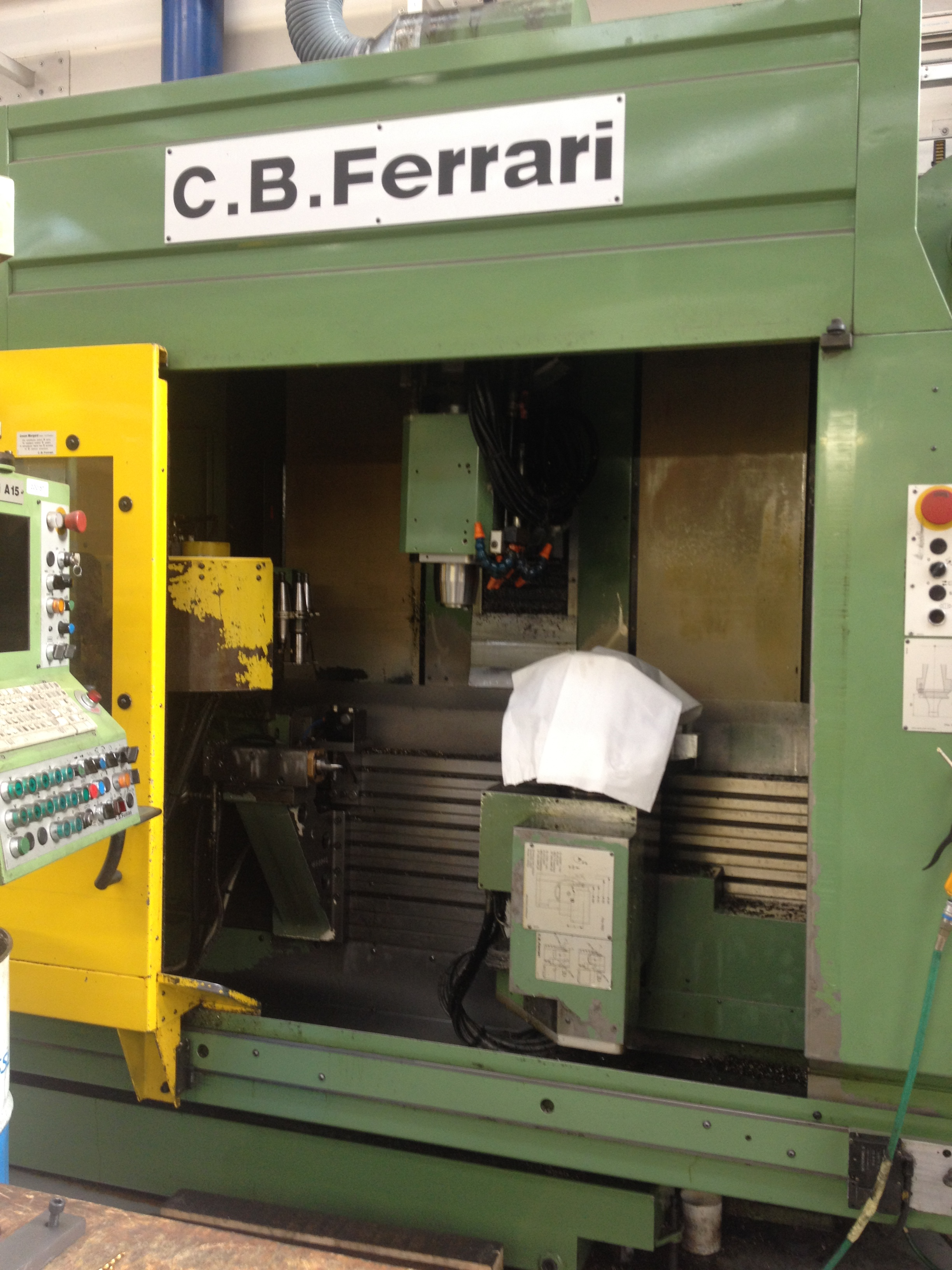 Cb Ferrari A 15 6 Axis Machining Centre Exapro