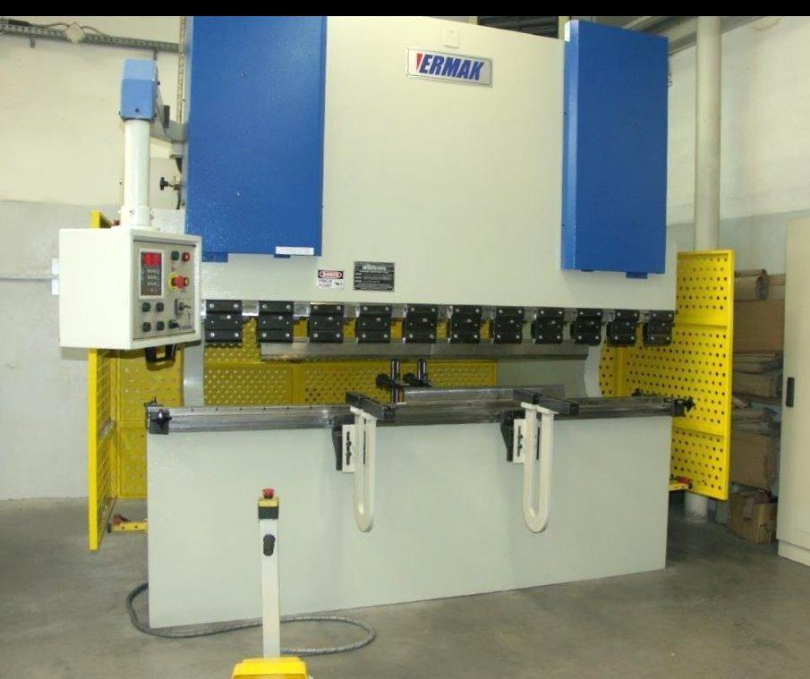 Aluminum Ermaksan Working Mexico: Used Ermaksan AP 2600-80 Cnc Press Brake