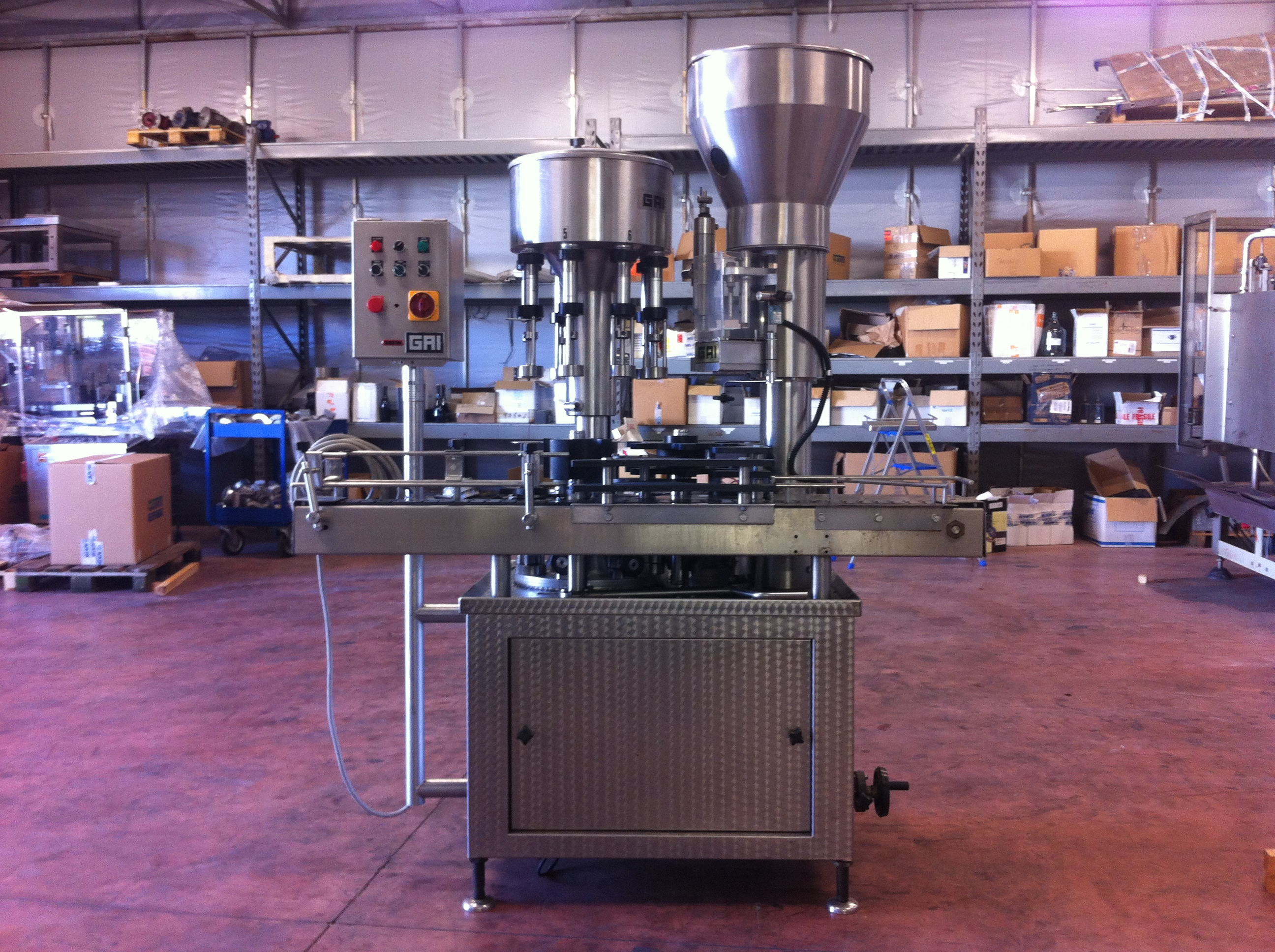 new style 8bfab 3c1e2 Gai Spa MBS 8/1 LV Wine, beer or alcohol making machine - Exapro