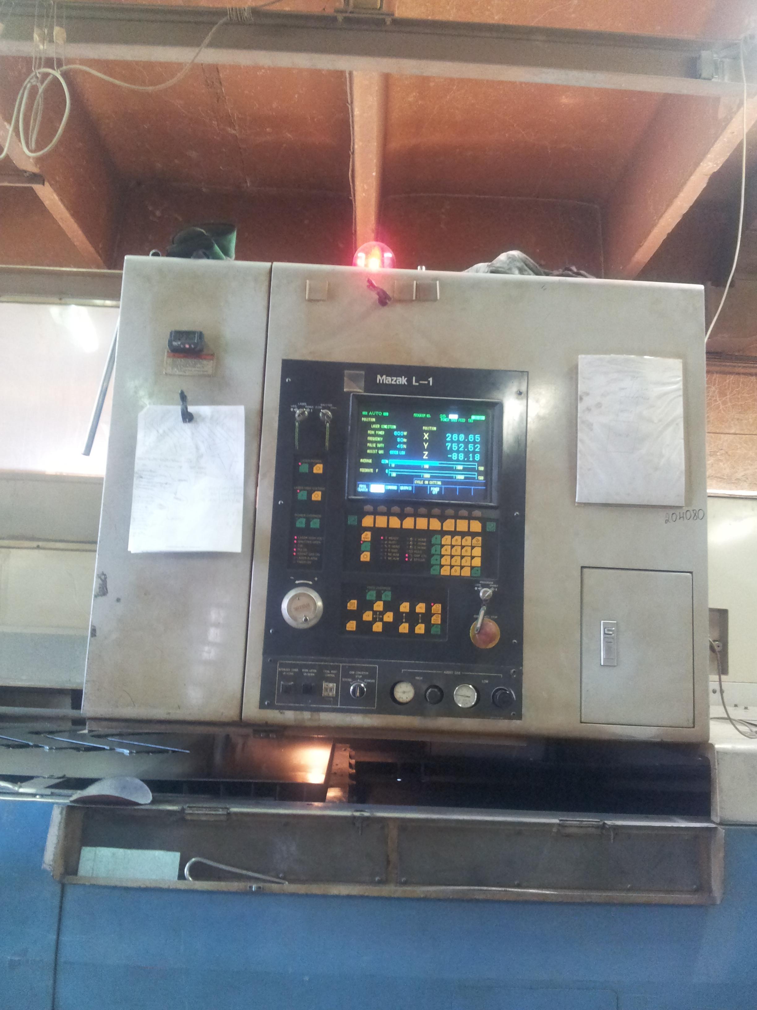 mazak laser cutting machine
