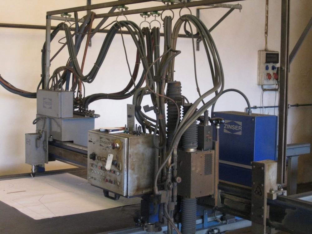 Zinser Lk 110 Cutting Machine Exapro