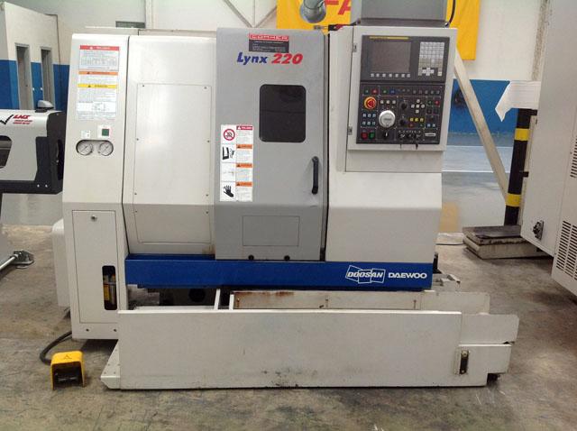 Torno CNC DOOSAN-DAEWOO mod  Lynx 220 CNC FANUC Di-T