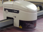Used Lectra VT25 Leather Digi Automated cutting machine