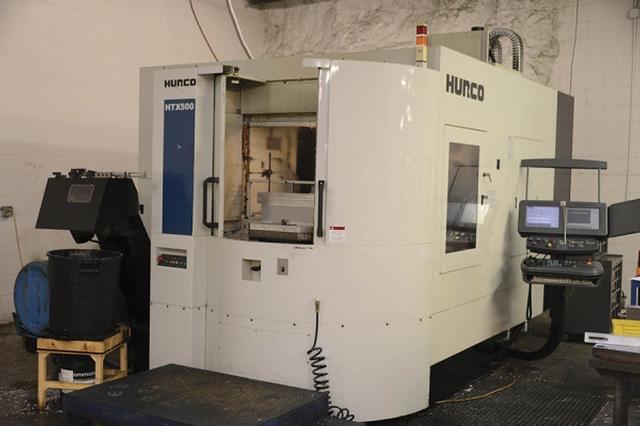 Used Hurco HTX 500 Horizontal machining center - Exapro