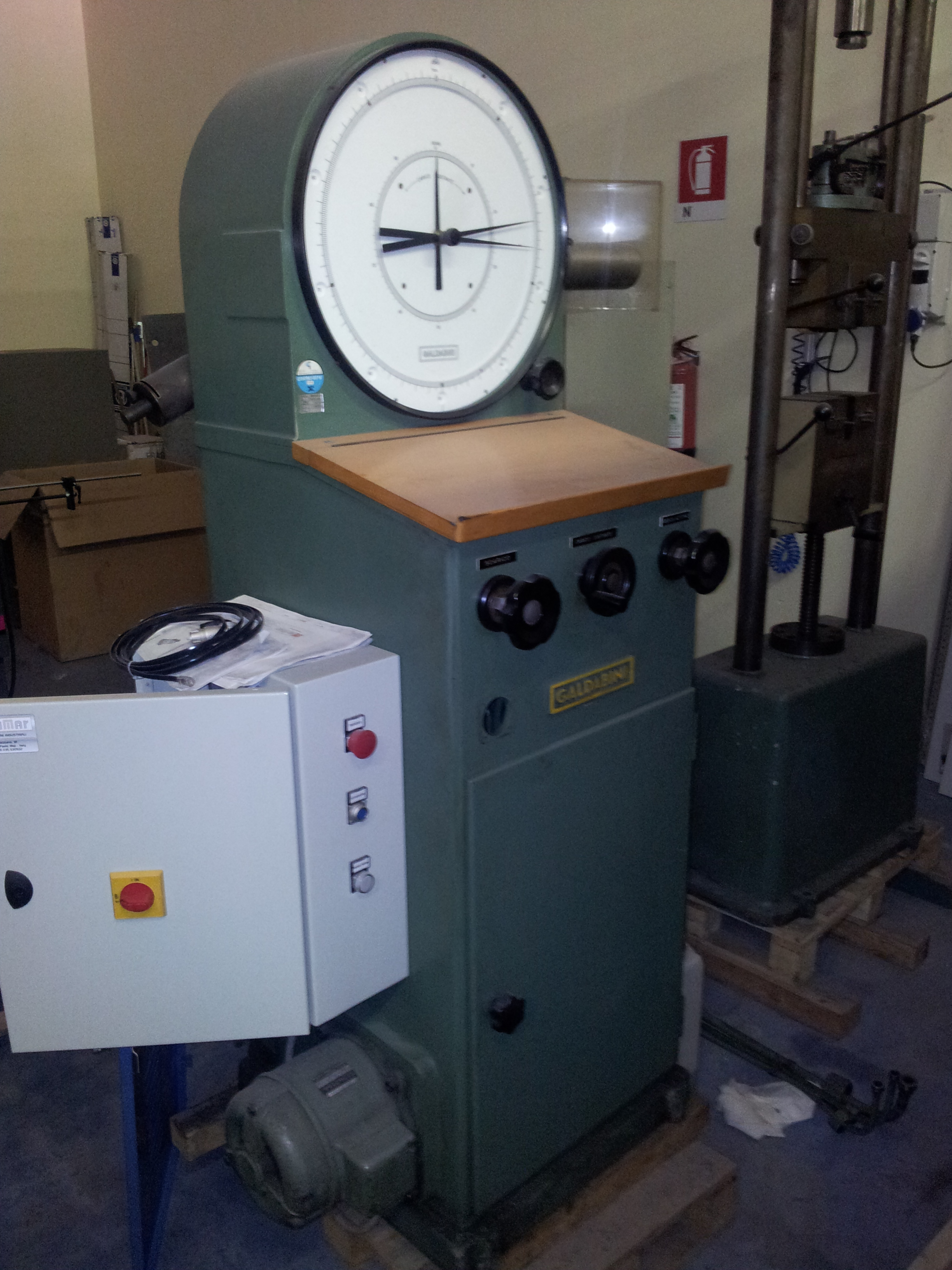 Galdabini 100 kN usati Macchinari usati - Exapro