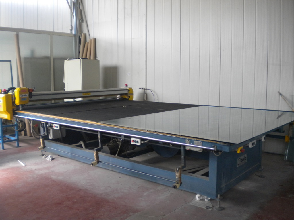 Bolla Gestional Cut 440 Automatic Glass Cutting Table For