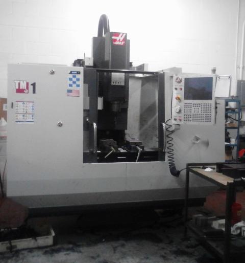Used Haas TM 1 Vertical Milling Machine