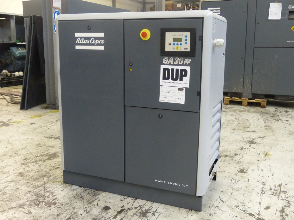 Atlas Copco GA 30 FF Oiled screw compressor - Exapro
