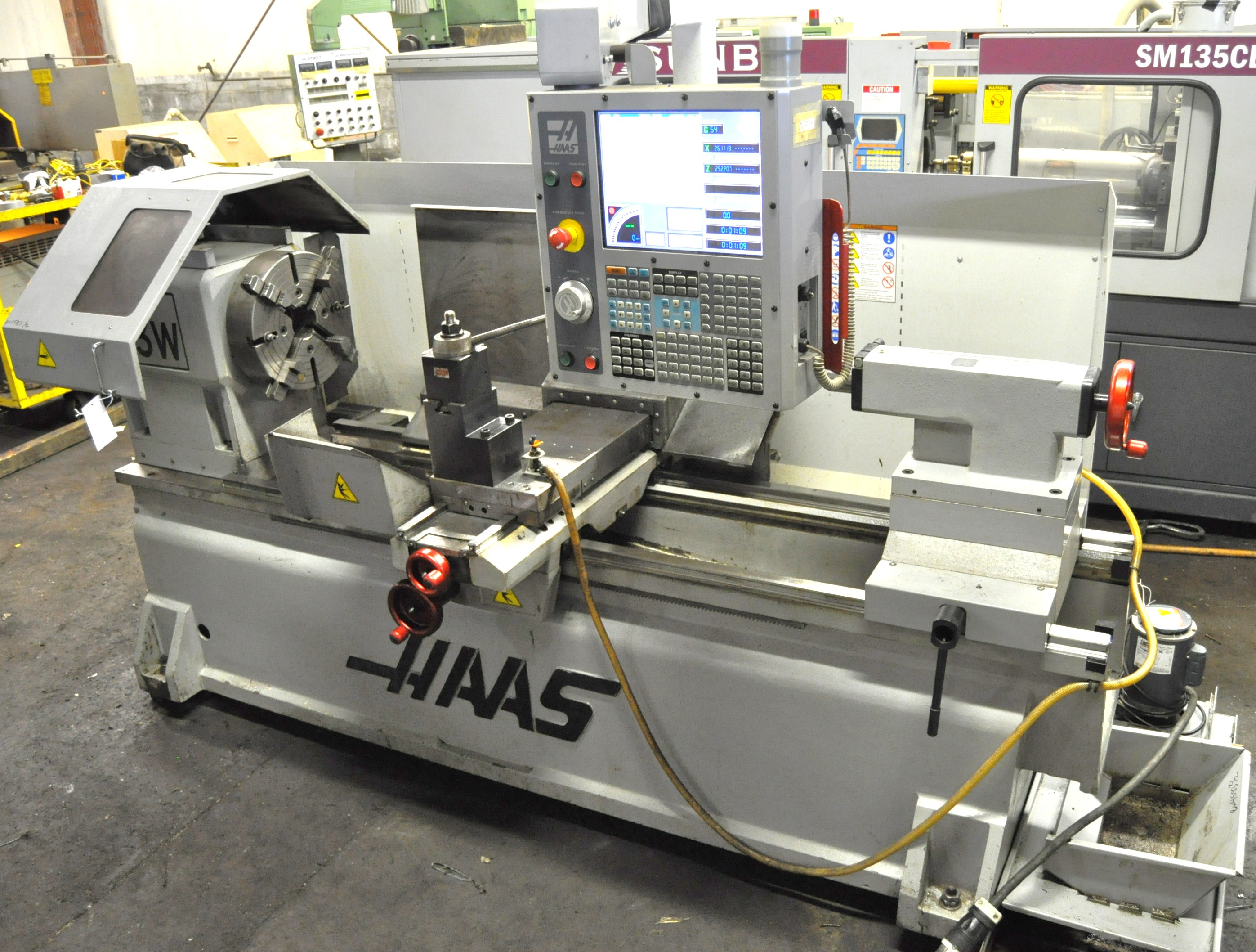 Used Haas Tl3w Cnc Lathe Exapro
