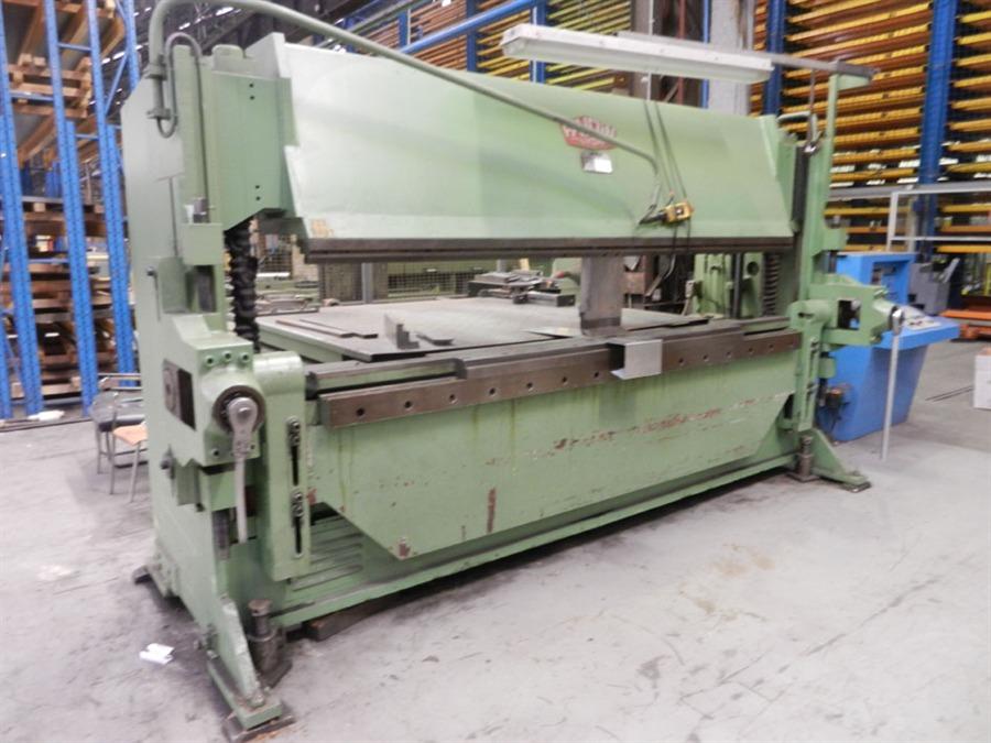 ... folding machines favrin phmmpe 3050 x 8 mm cnc plate folding machine