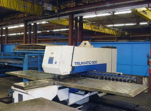 Trumpf Trumatic 500R-1300 CNC CN punching machine