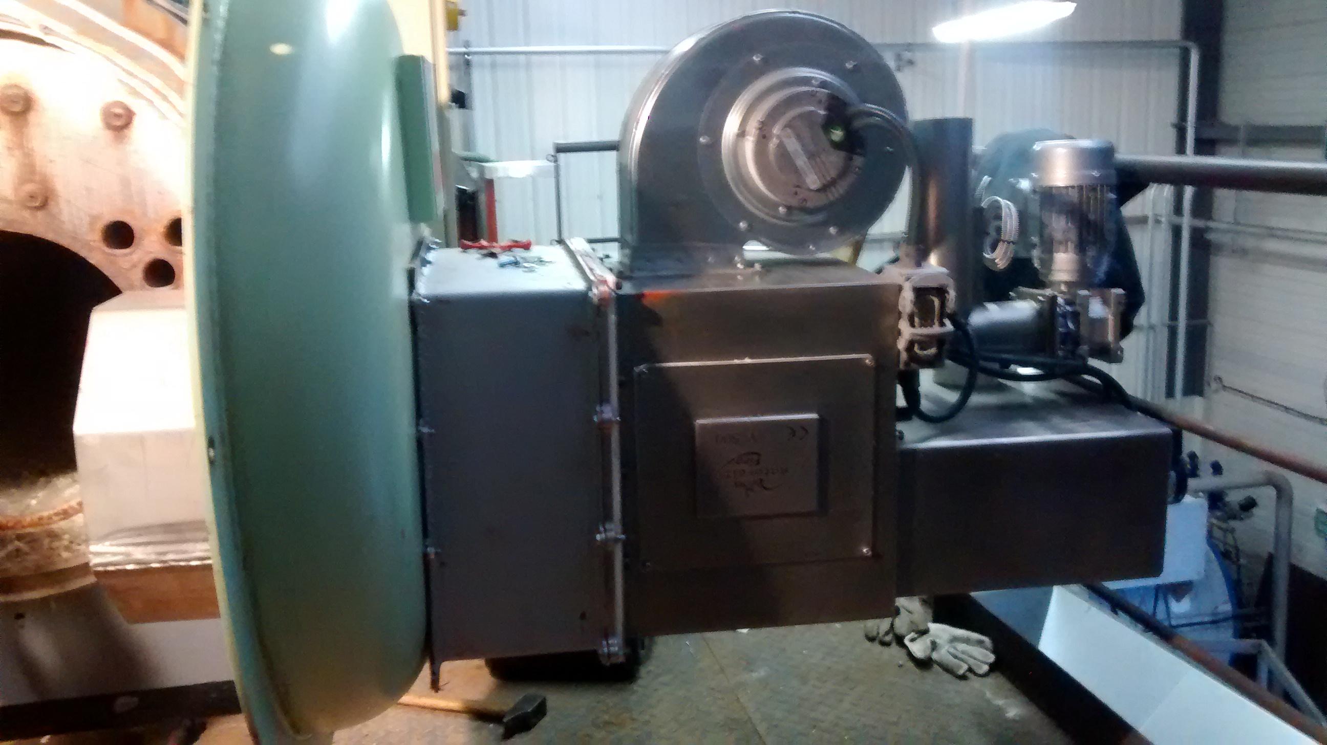 Caldaie termocabi 500kw macchinari usati exapro for Macchinari pellet usati