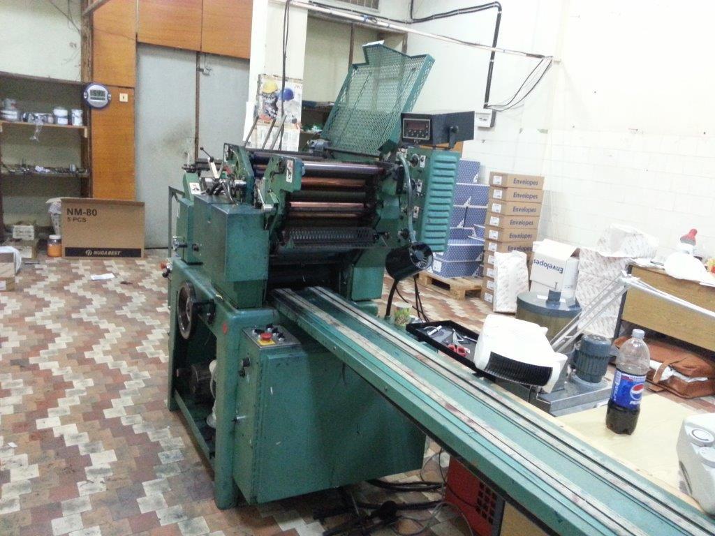 Halm Superjet JP-TWOD-6D Envelopes printing machine - Exapro