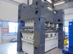 Gotha UBR 16x2500 /1-10 листоправильная машина / Станок для правки листов Модернизированный