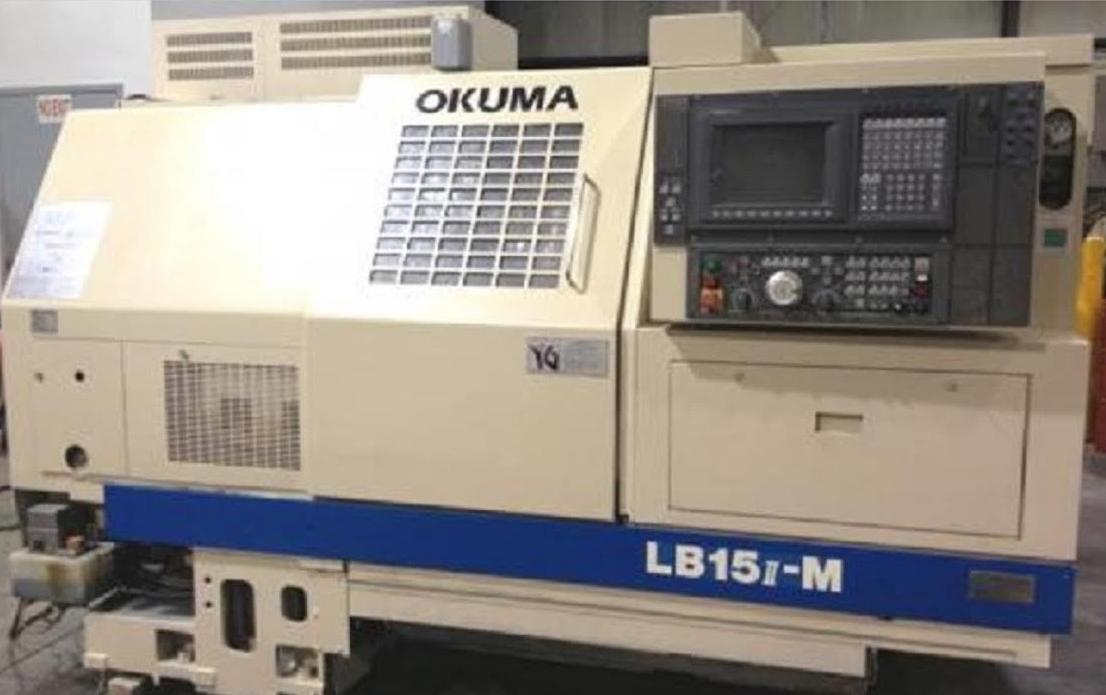 Used Okuma LB15M 3 Axis Cnc lathe - Exapro
