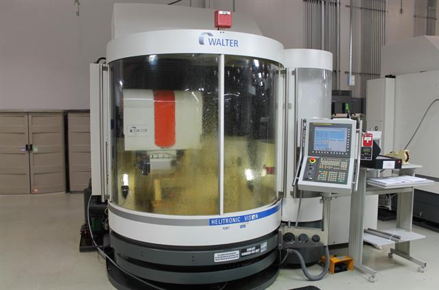 Used Walter Helitronic Vision Cnc Tool Cutter Grinder Exapro