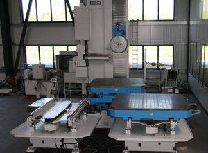 UNION CHEMNITZ KCUX 130 CNC 840 D CNC Table Type Boring and Milling Machine