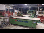 Used Kallesoe KL10 + LV4514 + KA1 Gluing machine