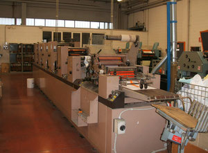 Used Didde Conserver PRESS Web continuous printing press