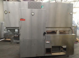 USED BOSCH-STRUNCK  Mod. TLQ U 24 - HOT AIR STERILIZING AND DRYING TUNNEL