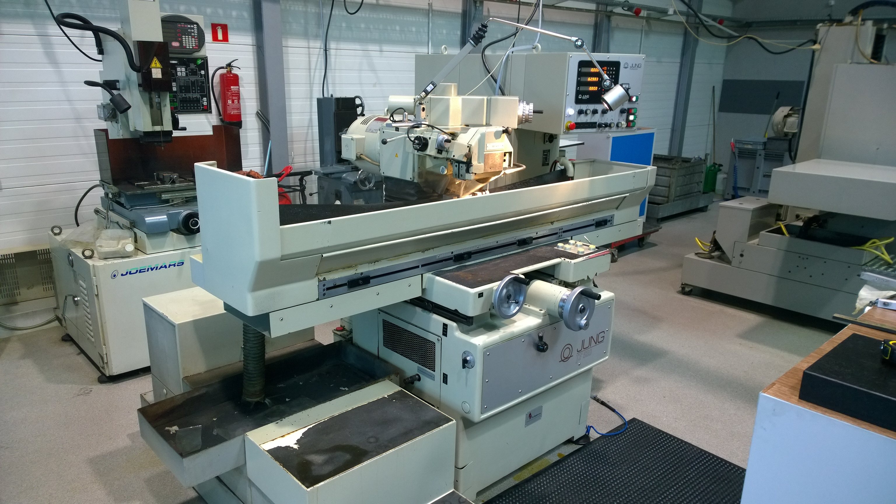 Used Jung Jf 520 E-1 Surface Grinding Machine