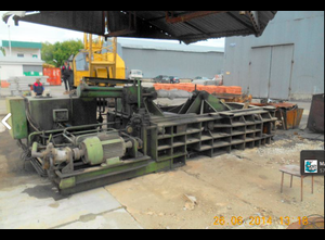 Used Rico s-40 Riko Baling press - waste compactor