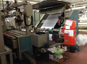 Used EUREKA 111L Unrolling & inspection machine