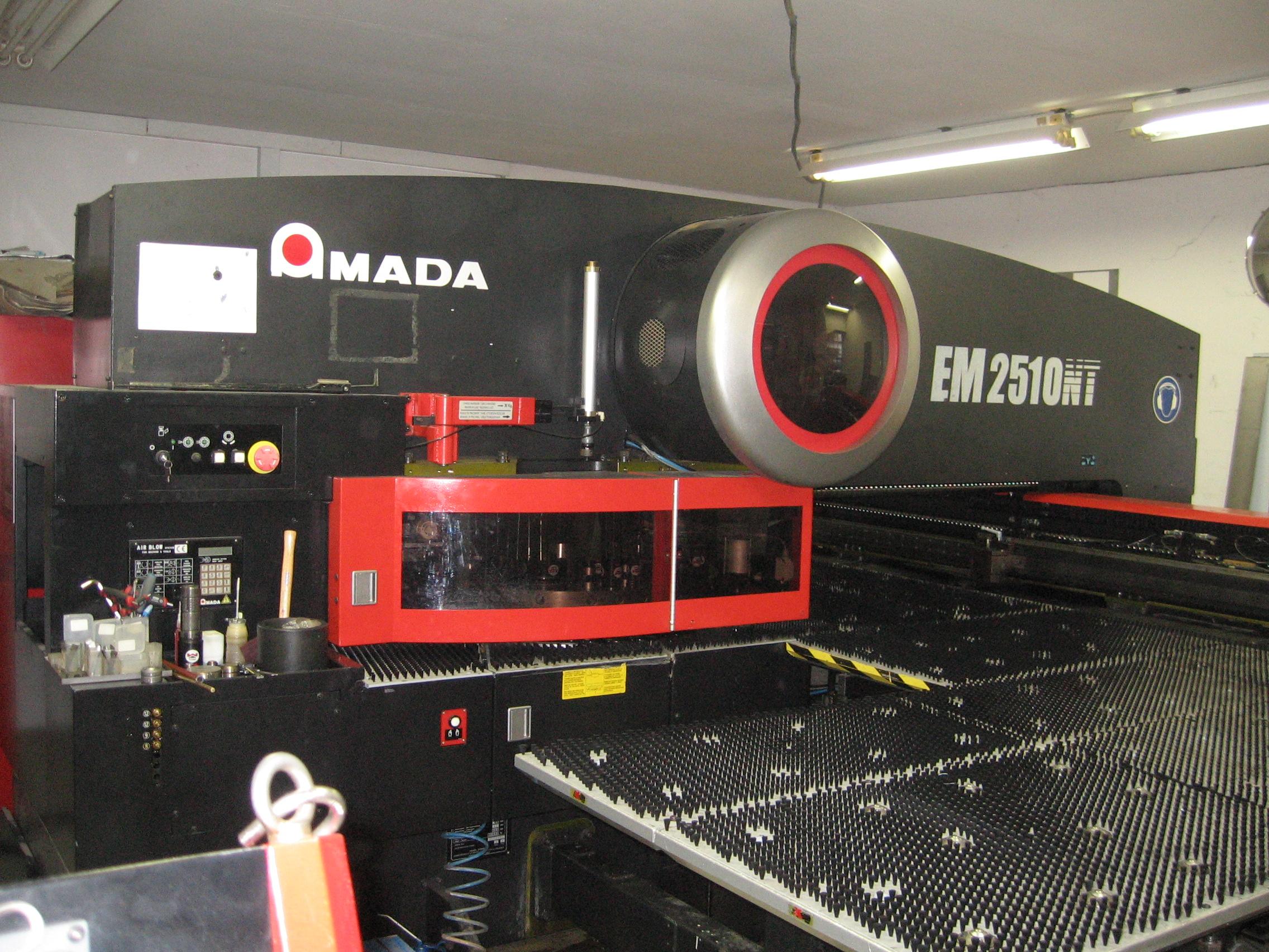 Amada Nt2510 Amada Punching Machine Nibbling Machine