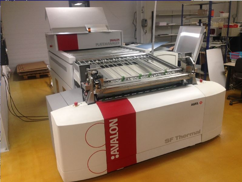 Agfa Avalon Sf Ctp System Exapro
