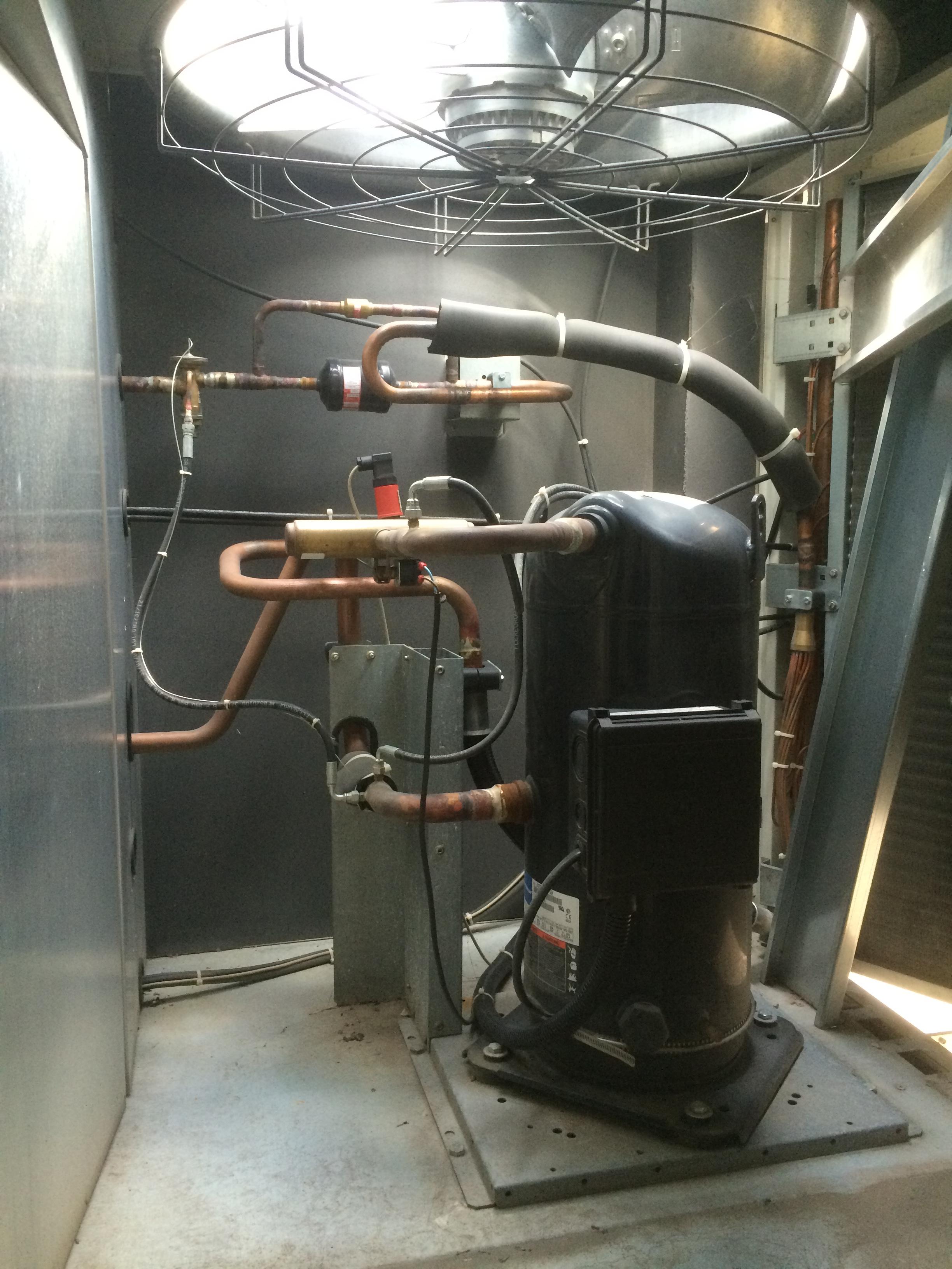 Lennox fhm 100 n industrial climate control heat pump - Bomba de calor ...