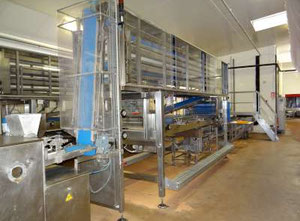 Used Mecatherm,VMI - Complete bread production line