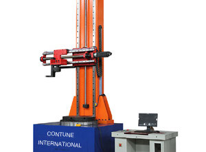 Insulator bending and torsion testing machine