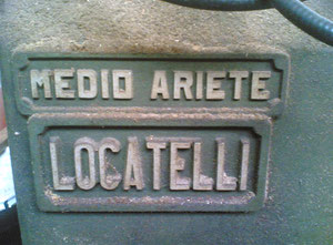 Locatelli Medio Ariete Wood lathe