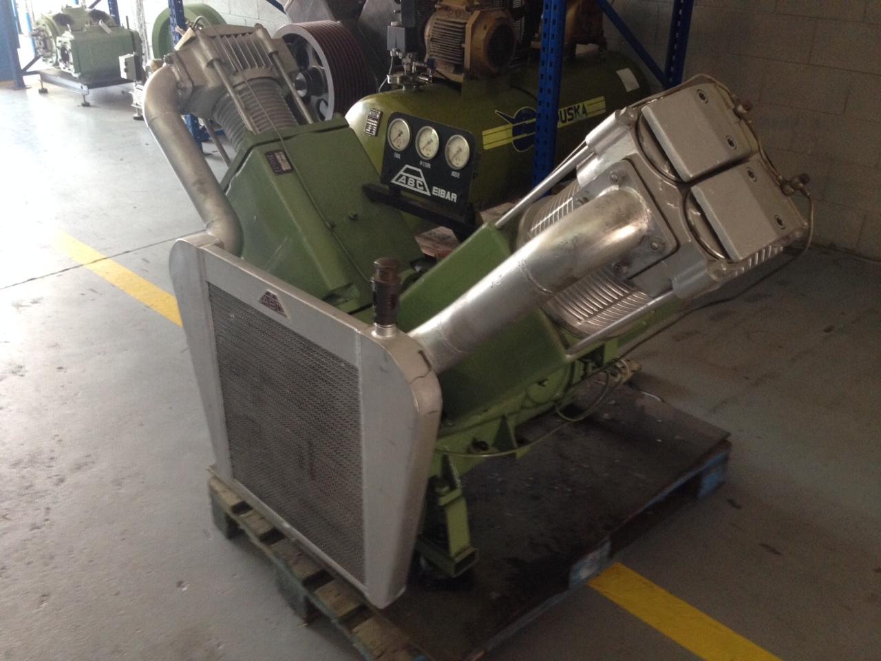 Compresor abc exento de aceite maquinas de segunda mano for Aceite para compresor
