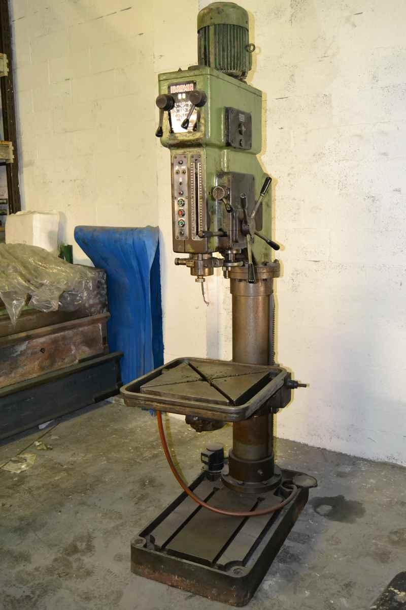 Taladro de columna ibarmia 50 maquinas de segunda mano - Taladros de columna ...
