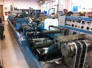 Franchini Sericonvert 4+3 Labels printing machine