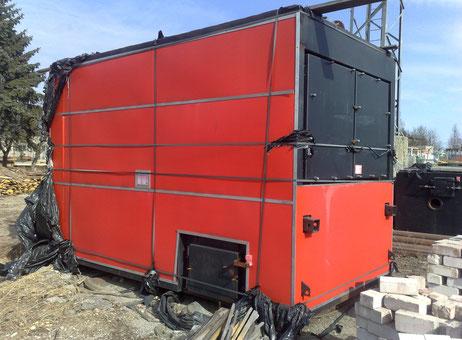 2.5 MW Automatic Justsen Hot Water Boiler System Industrielle öfen ...