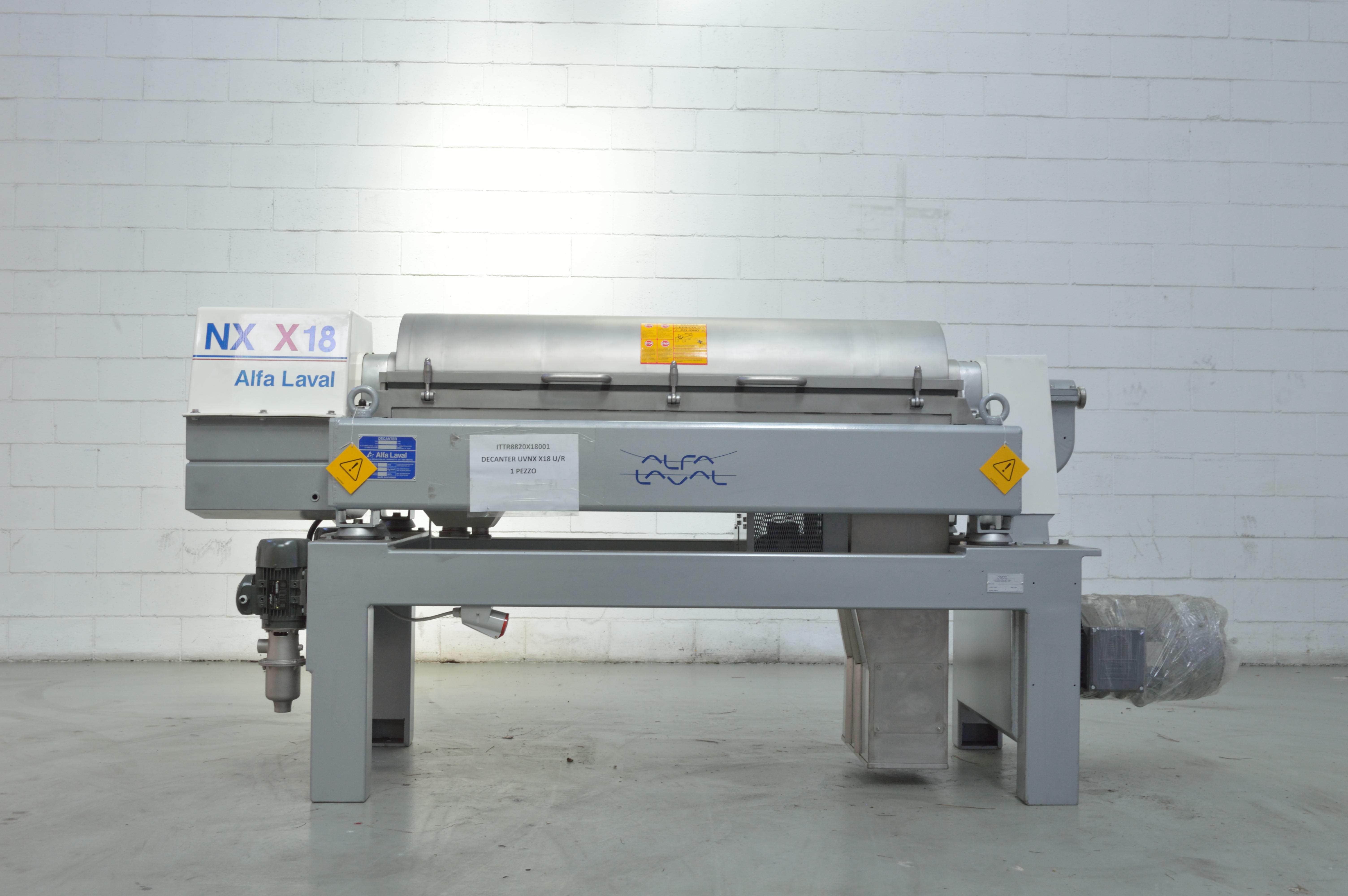 Alfa Laval Decanter Machine - Exapro