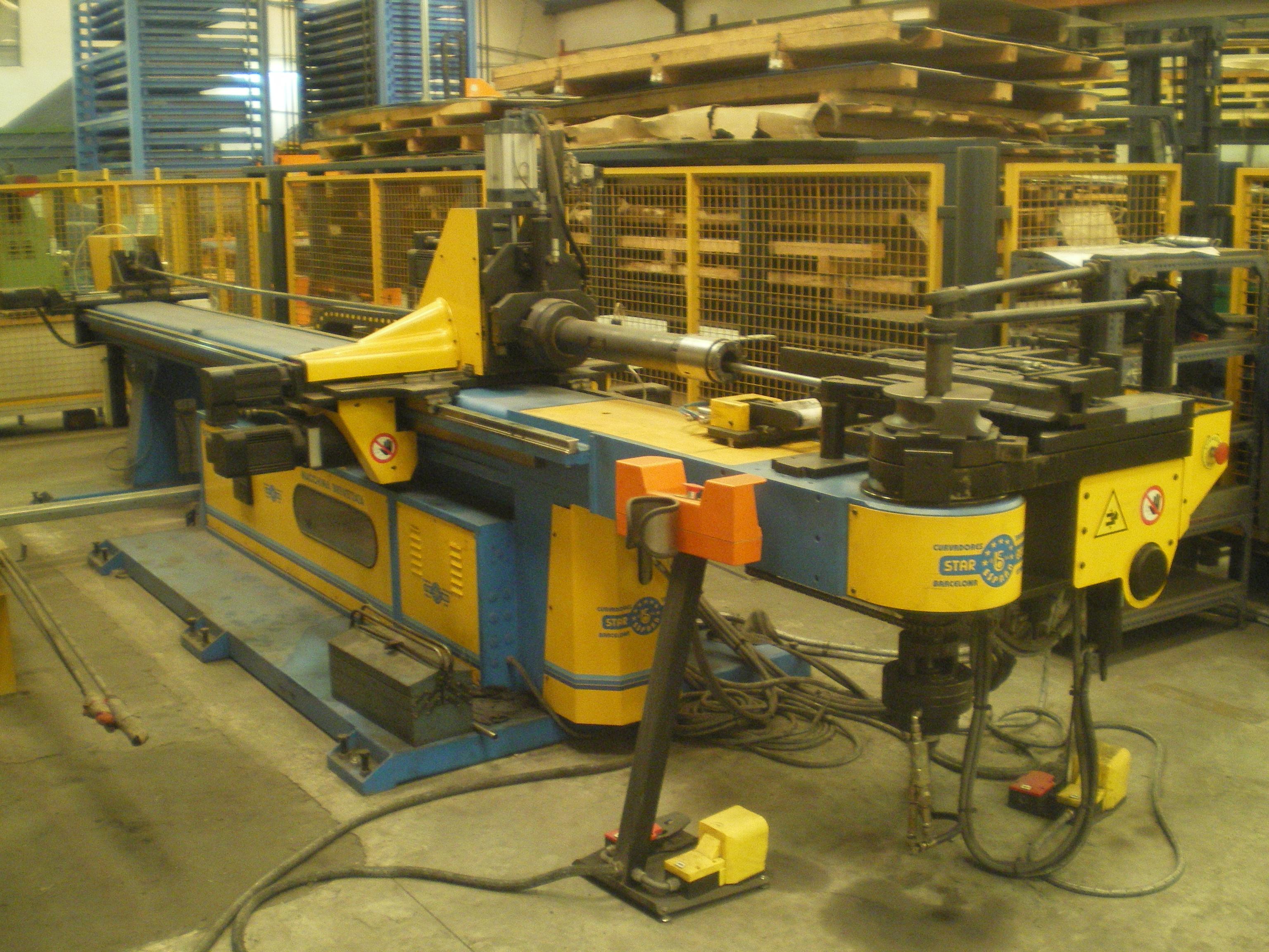 Curvadora de tubos cnc star ben 550 cn6 gen l maquinas de for Curvadora de tubos segunda mano