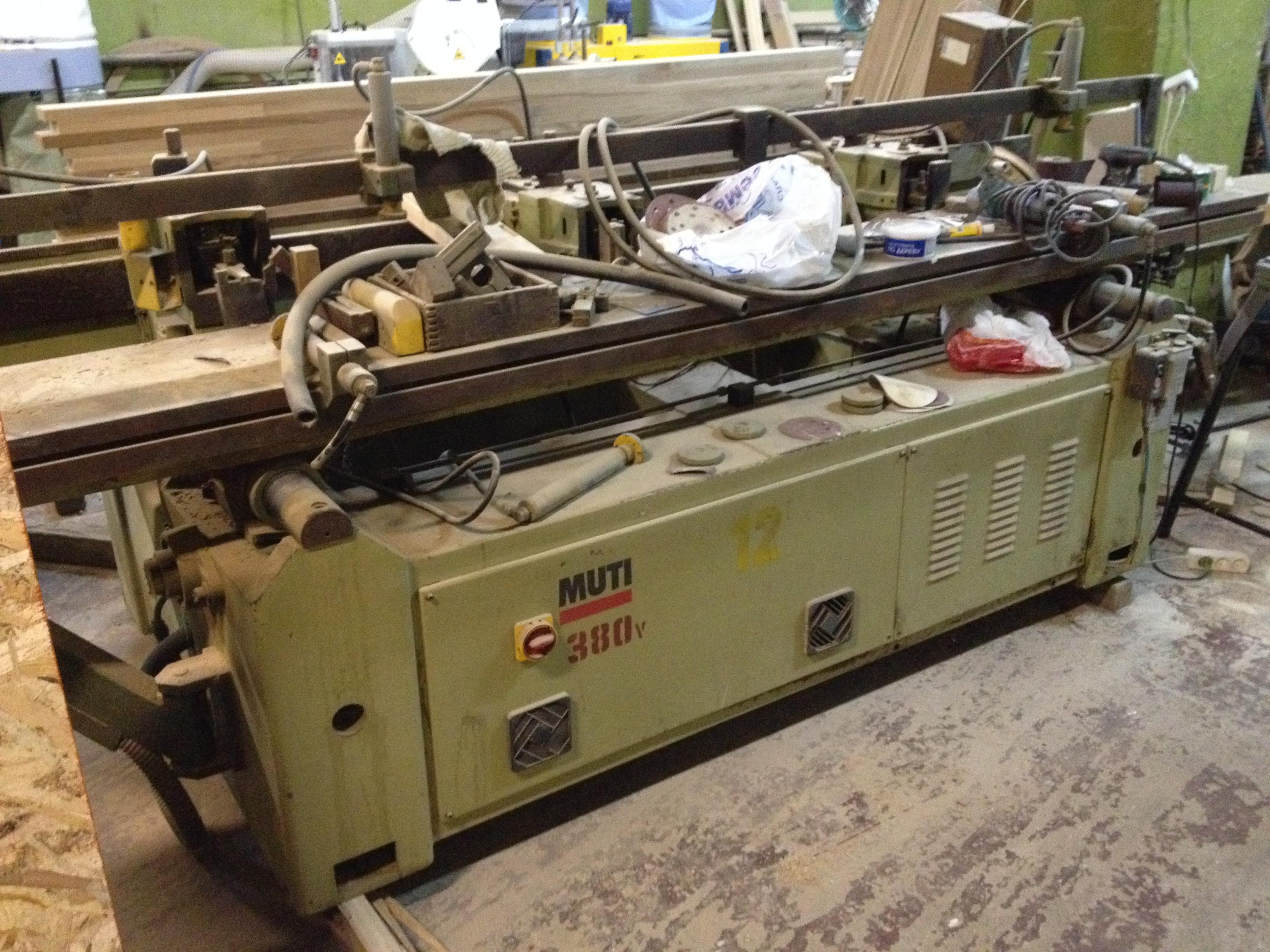wood mortising machine