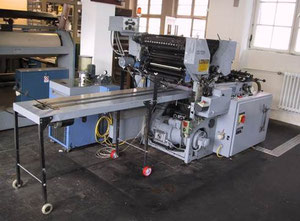 Winkler + Duennebier Helios 212 Envelopes making and printing machine