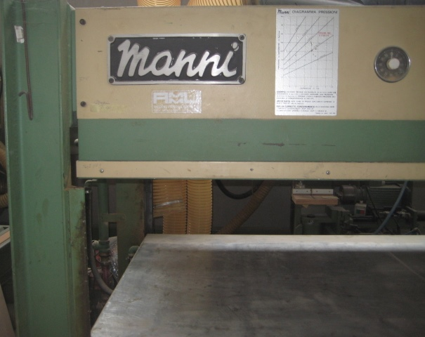 Pressa manni macchinari usati exapro for Manni presse