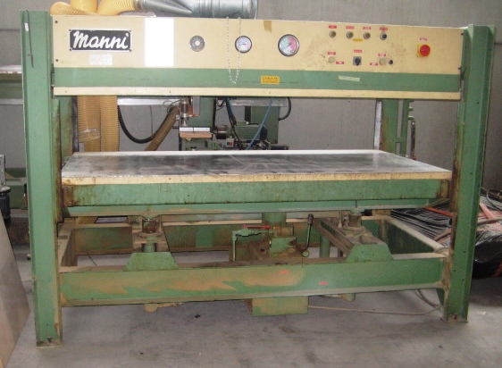 Manni presse gebrauchte maschinen exapro for Manni presse