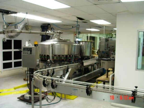 used bottling machine