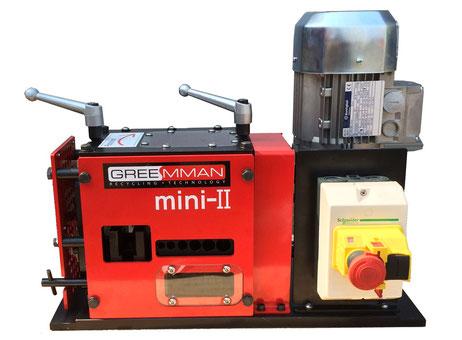 machine de recyclage plastique greemman st mini machines d 39 occasion exapro. Black Bedroom Furniture Sets. Home Design Ideas